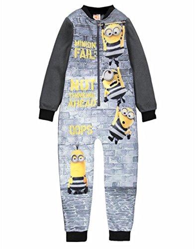 Minions Despicable Me 3 Schlafanzug Mit Kapuze Alter 6-11 Jahre (Alter 7 Jahre) (Despicable Me-strampelanzug)