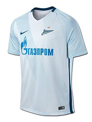 Nike Zenit M NK Dry Stad JSY SS HA Camiseta de Manga Corta, Hombre, Azul (Glacier Blue/White/Green Abyss), XL