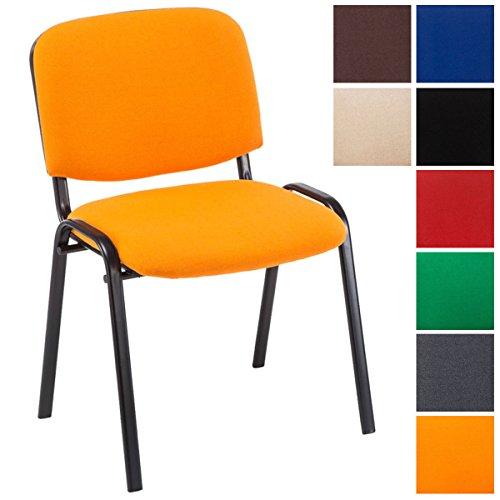 CLP Konferenzstuhl Ken V2 mit Stoffbezug und Hochwertiger Sitzpolsterung I...