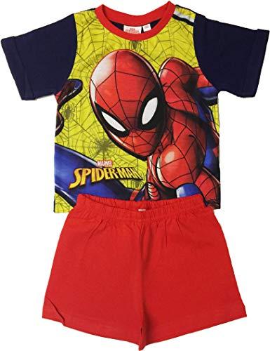 Spider-Man Boys Pyjamas Short Summer Sleepwear Ages 18 Months to 5 Years