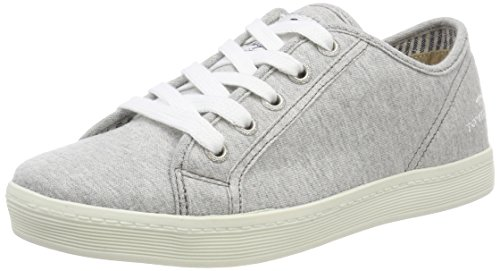 TOM TAILOR Damen 485200330 Sneaker, Grau (Grey), 38 EU