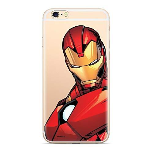 Finoo Hülle kompatibel für iPhone XS - Marvel Handyhülle mit Motiv und Optimalen Schutz TPU Silikon Tasche Case Cover Schutzhülle - Iron Man V3 -