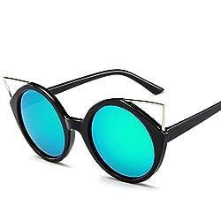 LeonLion 2017 Fashion Cat Eye Sunglasses Women Luxury Sun Glasses For Women Glasses Feminino Classic Retro UV400 Oculos De Sol Black Green