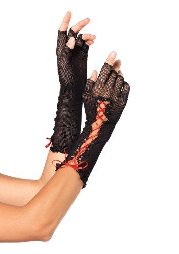 Leg Avenue 2129 - Fischnetz Fingerlose Handschuhe