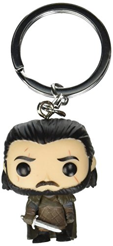 Funko POP! Game of Thrones Llavero de vinilo Jon Snow, multicolor (14690-PDQ)