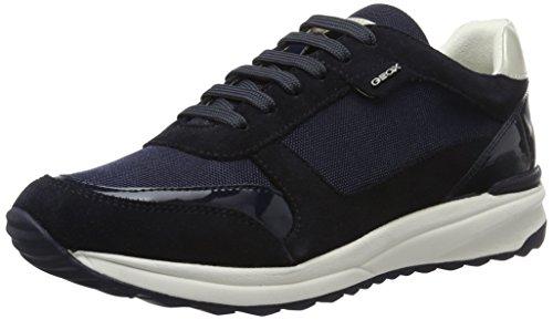 Geox Damen D Airell C Sneakers Blau (Navyc4002)
