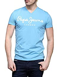 PEPE JEANS Tee-shirts manches courtes - PM500373 ORIGINAL STRETCH V - HOMME