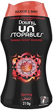 Downy Unstopables In-wash Freshness And Scent Booster Beads, Spring Scent, 210 gm