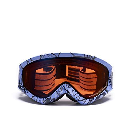 XY&CF-Ski glasses Skibrille doppelter Anti-Fog sphärischer Skibrille Skibergsteigenschneespiegel (Farbe : C)