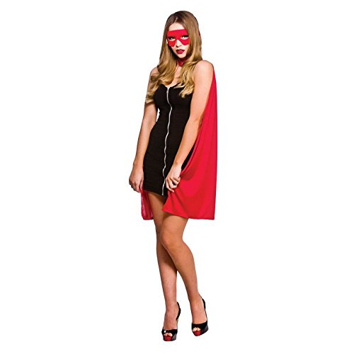 Super Hero Adult Red Cape One (Erwachsenen Super Hero Cape)