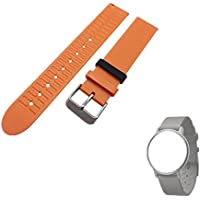 Hensych® alta qualità Silicone Sport Arm Band Replacement Strap braccialetto in silicone per Withings activite Pop, Orange