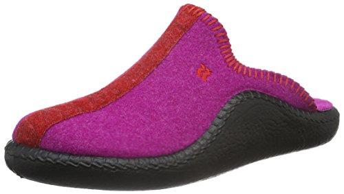 ROMIKA Mokasso 62, Chaussons femme Rose - Pink (fuchsia-rot 491)