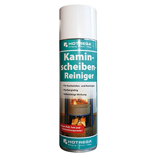 Hotrega H130907 Kaminscheiben-Reiniger, Profi-Reiniger zur...