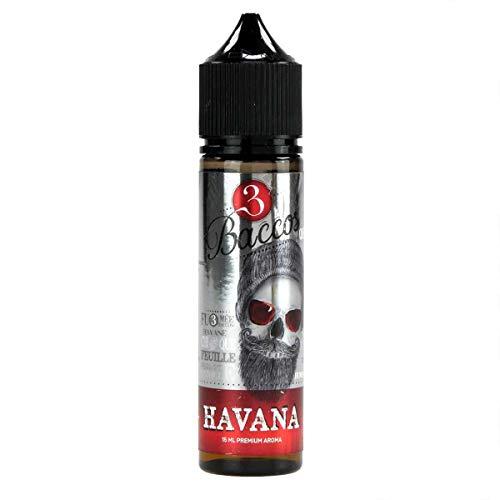 PG/VG Labs Aromakonzentrat Havana, zum Mischen mit Basisliquid für e-Liquid, 0.0 mg Nikotin, 15 ml -