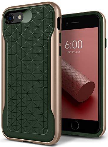 Caseology [Apex Series iPhone 8 / iPhone 7 Case - [3D Pattern Design] - Pine Green Pattern Design Case