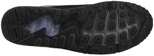 Nike Air Max 90 Ultra 2.0 Essential, Scarpe da Corsa Uomo Nero (Black / Black / Black / Dark Grey)