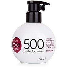 Revlon Nutri Color Creme Intensos, Tinte para el Cabello 500 Rojo Púrpura - 250 ml