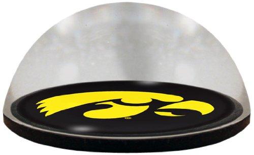 (NCAA Iowa University Hawkeye Maskottchen mit magnetischem Briefbeschwerer mit farbigem Fenster, 5,1 cm)