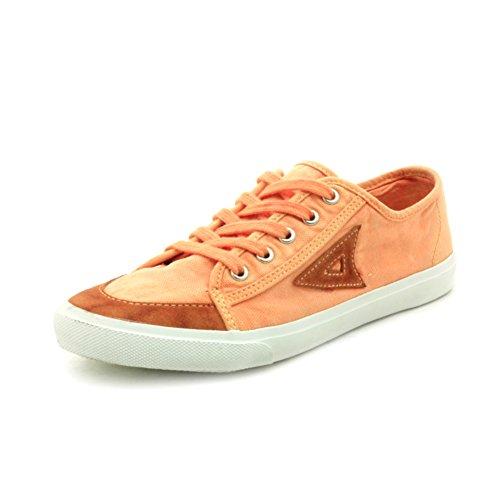 Le scarpe di tela di autunno/Scarpe da tennis superiori basse/Fondo piatto cinturino scarpa che respira/Scarpe da donna-A Lunghezza piede=24.3CM(9.6Inch)