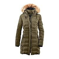 G.I.G.A. DX Hakawa Winterparka voor dames, met afritsbare capuchon.
