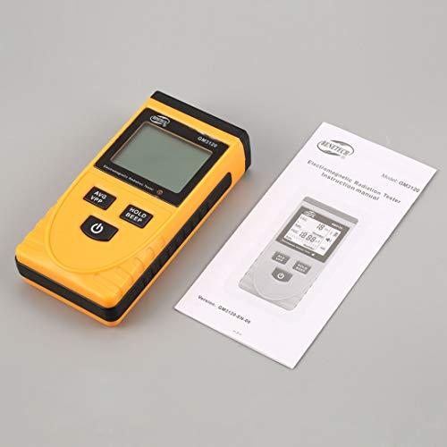 sdfghzsedfgsdfg Benetech GM3120 LCD-Digital-elektromagnetische Strahlungs-Detektor Meter Dosimeter Tester Zähler für Computer-Telefon-TV Orange u Schwarz