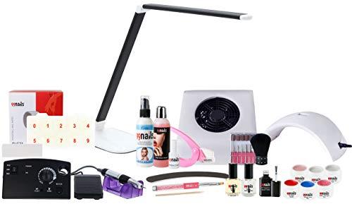 99nails Nagelstudio Set Starterset 22-teilig Made in Germany Kosmetika Premium Qualität LED Lampe