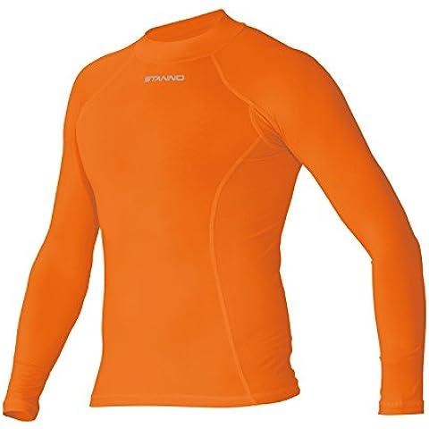 Stanno Pro Base capa LS, fútbol, hombre, color naranja, tamaño small
