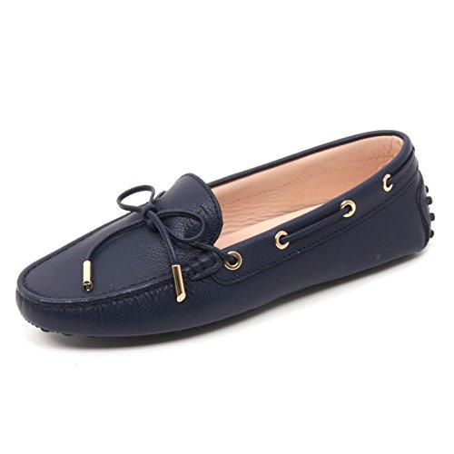 b7660-mocassino-donna-tods-heaven-scarpa-blu-shoe-loafer-woman-37