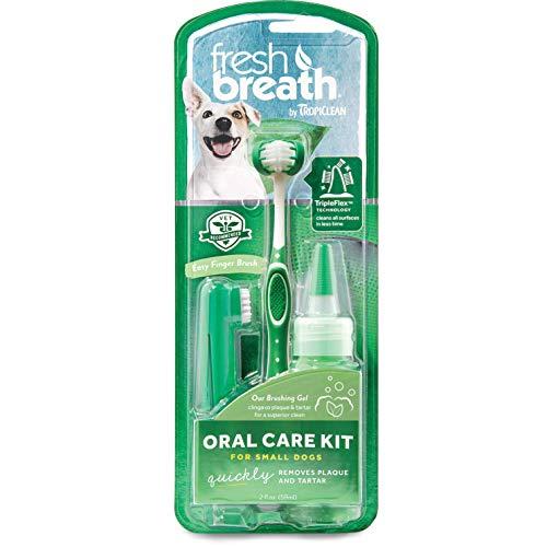 Tropiclean FBOCK2Z-SM Oral Care-Kit für kleine Hunde -