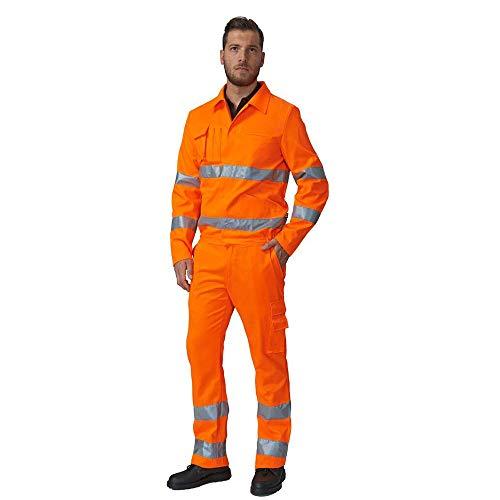 Pantalone da Lavoro Estivo SIGGI 69SE0334 Alta VISIBITA' Arancio DPI Classe 2 (L)