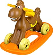 Ching Ching Mini Horse with Rocking Board (up to 25kgs) - Brown