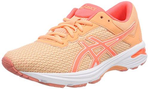 ASICS Gt-1000 6 GS, Scarpe Running Unisex-Bambini, Arancione (Apricot Ice/Flash Coral/canteloupe 9506), 37 EU