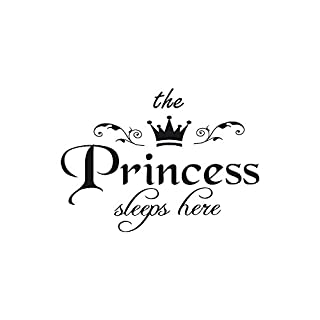 erthome Removable Wall Sticker for Bedroom livingroom Decal Art Home Decors - Princess