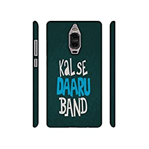NattyCase Kal Se Daaru Band Design 3D Printed Hard Back Case Cover for Huawei Mate 9 Pro