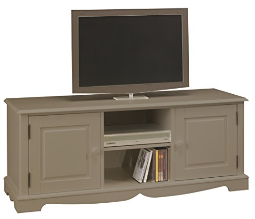 ACTUAL DIFFUSION 2 Windsor Meuble TV HiFi avec 2 Portes/2 Niches Bois 46 x 143 x 55,5 cm