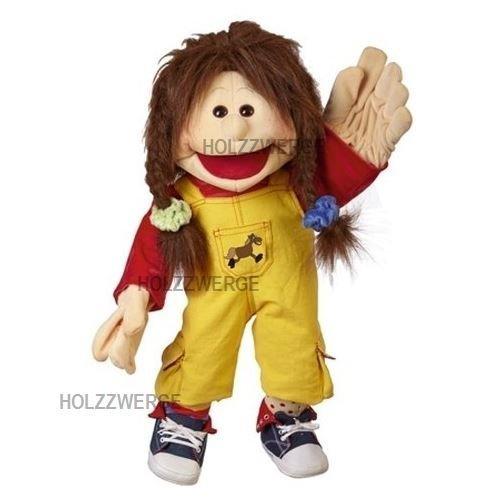 Lachfalten Falten (Living Puppets Handpuppe Zwilling Lou 65 cm [Spielzeug])