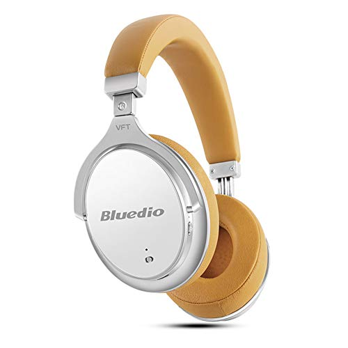 Yehyep Aktive Geräuschunterdrückung über Ohr Kopfhörer Bluetooth, ANC Funkkopfhörer mit Mikrofon für Apple iPhone Samsung LG Sony Android Smart Phone,B