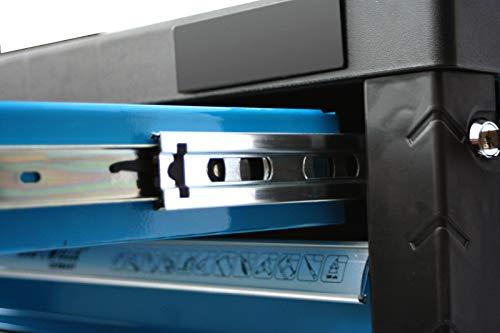 XXL Edition | Werkzeugwagen – Werkstattwagen – 6 Schubladen gefüllt mit Werkzeug | Bit Sets, Ratschen, Nüsse und vieles mehr… - 6
