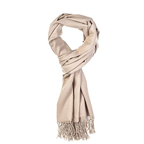 World of Accessories feiner Pashmina Schal (Leinen)