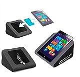 reboon Tablet Kissen für das Pearl Touchlet XWi.8 - ideale iPad Halterung, Tablet Halter, eBook-Reader Halter für Bett & Couch