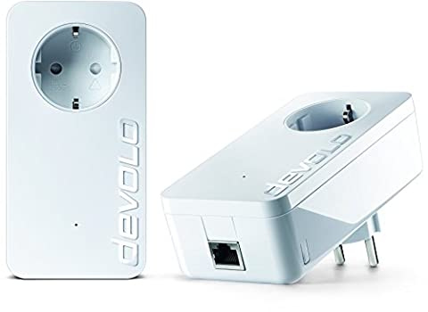 devolo dLAN 1200+ Starter Kit Powerline (1200 Mbit/s Internet über