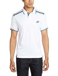 Yonex 441B 25 T-Shirt, Men's Small (White)