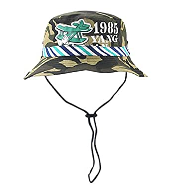 ACVIP Kids Boy Camouflage Fishing Bucket Hat Summer Sun Cap Packable ... af6080a69af0