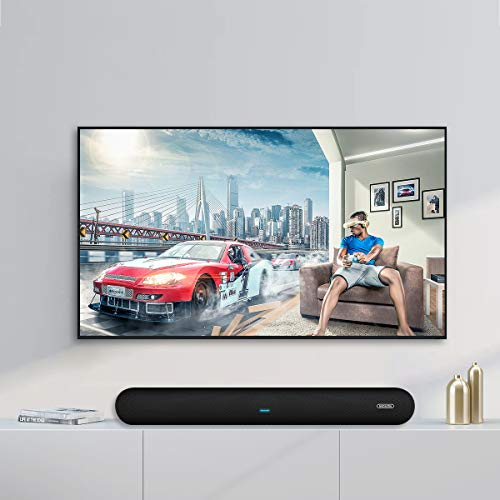 41e23T2GohL. SS500  - Soundbar, MEGACRA 80 Watts TV Sound Bar Home Theater Speaker with Dual Connection Way, Bluetooth 5.0, Movie/Music…