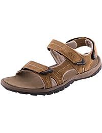 Woodland Men's CAMEL Suede Leather Sandals (GD2185116CAM)