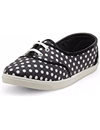 Nell Women BLACK Rinted Slip-On Sneakers - B0783QQCZV