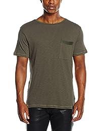 Antony Morato Con Tape Sulle Spalle E Sul Taschino, T-Shirt Homme