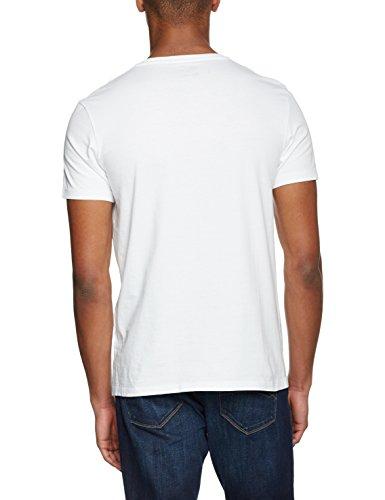 Timberland Herren T-Shirt Ca1s1e Bianco (White)