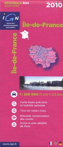 R03 Ile-de-France 2010 1/250.000
