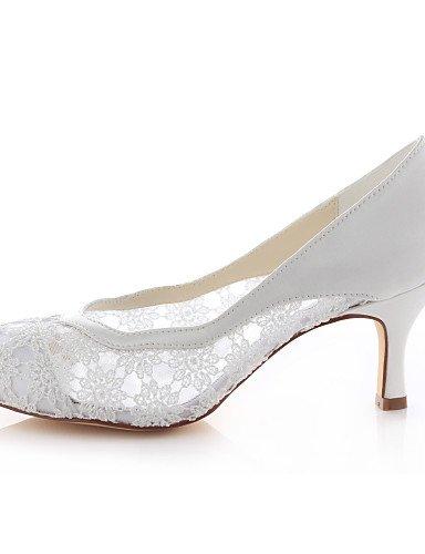 WSS 2016 Chaussures de mariage-Ivoire-Mariage / Habillé / Soirée & Evénement-Talons / Bout Arrondi-Chaussures à Talons-Homme 2in-2 3/4in-ivory